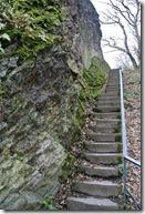 Rheinsteig (Königswinter - Bad Honnef) - Felstreppe