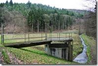 Rheinsteig (Königswinter - Bad Honnef) - Regenauffangbecken