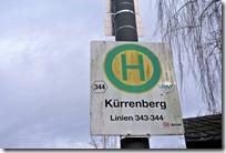 Wiesenweg Kürrenberg - Haltestelle