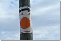 Wiesenweg Kürrenberg - Kennzeichnung des Weges
