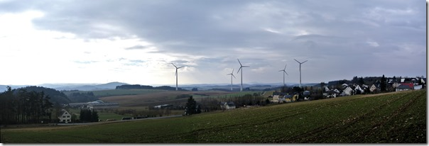 Wiesenweg Kürrenberg - Panorama