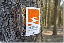 Traumpfad Bergheidenweg - Wegelogo