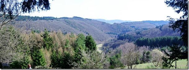 Traumpfad Bergheidenweg - Blick ins Nettetal