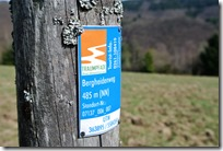 Traumpfad Bergheidenweg - Traumpfad Plakette