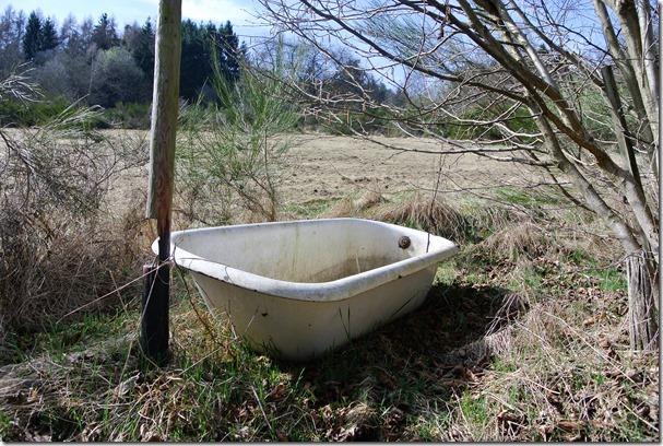 Traumpfad Bergheidenweg - Badewanne