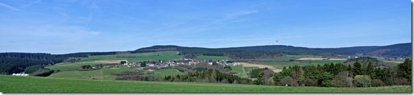Traumpfad Bergheidenweg - Panorama