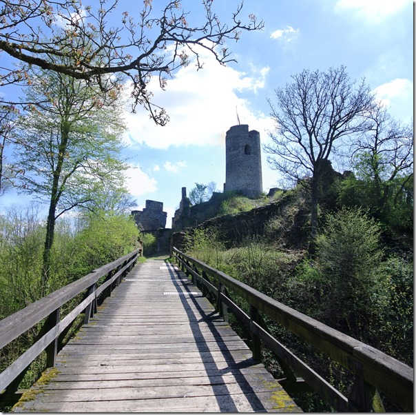 Cochemer Ritterrunde - Brücke zur Winneburg