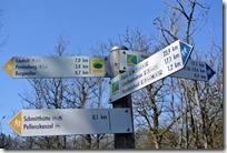 Grafschaft Pfad Manderscheid - Schilder