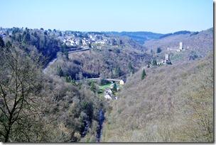 Grafschaft Pfad Manderscheid - Blick auf Manderscheid