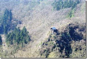Grafschaft Pfad Manderscheid - Blick zur Wanderhütte