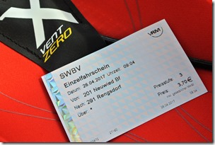 Rheinsteig (Rengsdorf - Sayn) - Ticket Nummer 1