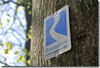 Rheinsteig (Rengsdorf - Sayn) - Rheinsteiglogo