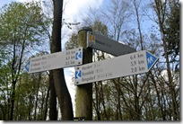 Rheinsteig (Rengsdorf - Sayn) - Wegweiser