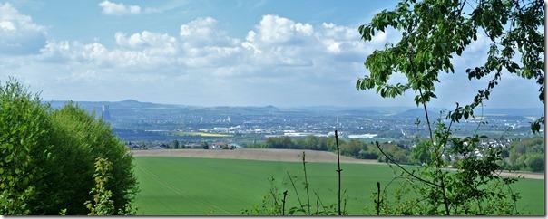 Rheinsteig (Rengsdorf - Sayn) - Panoramablick