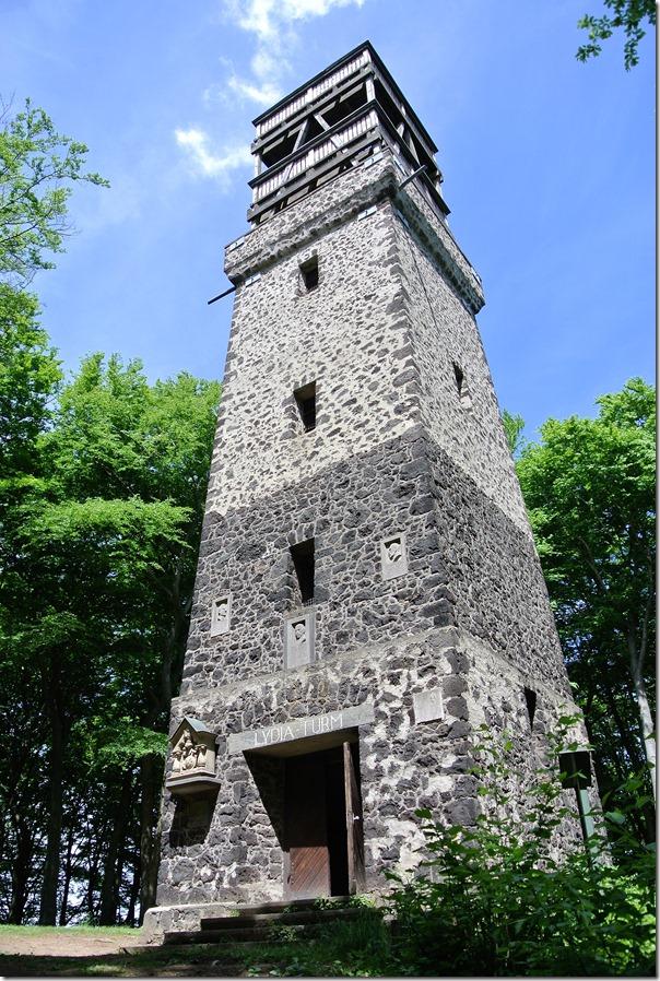 Höhenweg Laacher See - Lydiaturm