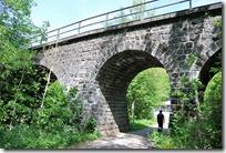 Traumpfad Monrealer Ritterschlag -Eisenbahnbrücke