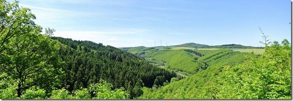 Traumpfad Monrealer Ritterschlag -Landschaft