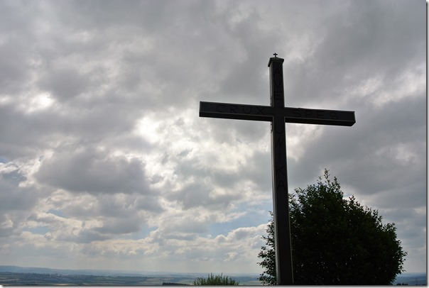 Traumpfad Pyrmonter Felsensteig - Gipfelkreuz