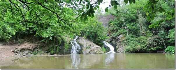 Traumpfad Pyrmonter Felsensteig - Wasserfall