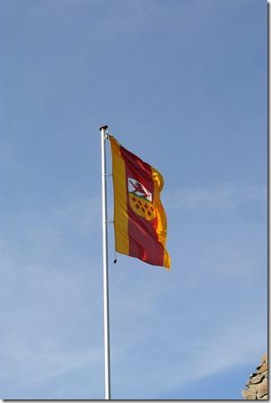 Traumpfad Virne-Burgweg - Fahne von Virneburg