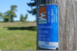 Traumpfad Virne-Burgweg - Plakette