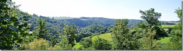 Traumpfad Virne-Burgweg - Blick auf das Tal von Virneburg