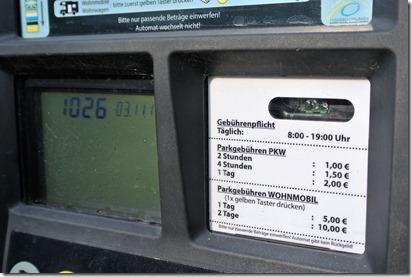 Traumpfädchen Riedener Seeblick - Gebührentafel