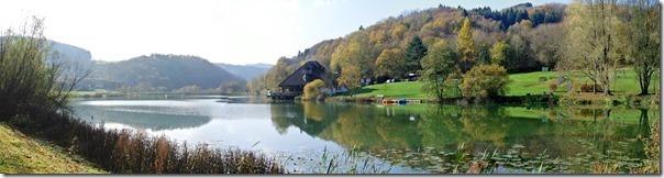 Traumpfädchen Riedener Seeblick - Panoramablick auf den See