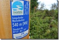 Traumpfädchen Langscheider Wacholderblick - Wegeplakette
