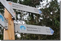 Traumpfädchen Langscheider Wacholderblick - Wegweiser