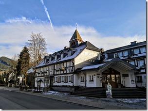 Rothaarsteig Spur Oberhundemer Bergtour -Landhotel Voss
