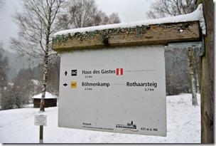 Rothaarsteig Spur Oberhundemer Bergtour -Hinweisschilder