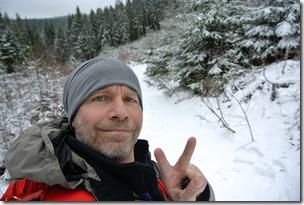Rothaarsteig Spur Oberhundemer Bergtour -Selfie