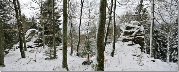 Rothaarsteig Spur Oberhundemer Bergtour -Oberhundemer Klippen