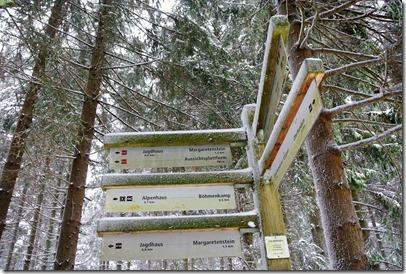 Rothaarsteig Spur Oberhundemer Bergtour -Ausschilderung