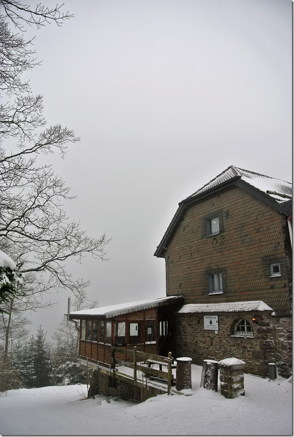 Rothaarsteig Spur Oberhundemer Bergtour -Alpenhaus
