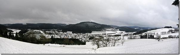 Rothaarsteig Spur Oberhundemer Bergtour -Panorama Oberhundem