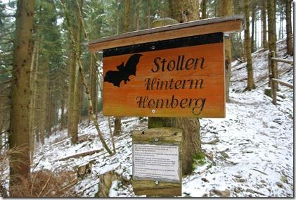 Rothaarsteig Spur Wisent-Pfad - Stollen Hinterm Homberg