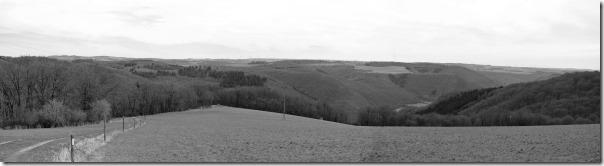 Moselsteig Seitensprung Borjer Ortsbachpädche - Hunsrückpanorama