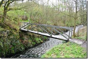 Traumpfad Nette-Schieferpfad - Brücke über die Nette