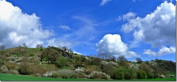 Traumpfad Nette-Schieferpfad - Wolken über dem Schieferweg