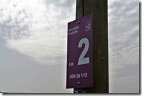 Traumschleife Murscher Eselsche - Kilometerangabe