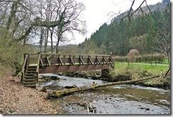 Traumschleife Murscher Eselsche - Brücke über den Baybach