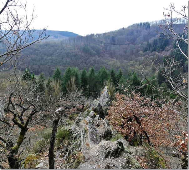 Traumschleife Murscher Eselsche - Blick ins Tal