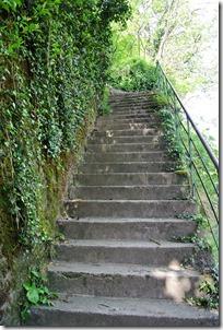 Seitensprungs Cochemer Ritterrunde - Treppe
