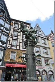Seitensprungs Cochemer Ritterrunde - Marktplatz in Cochem
