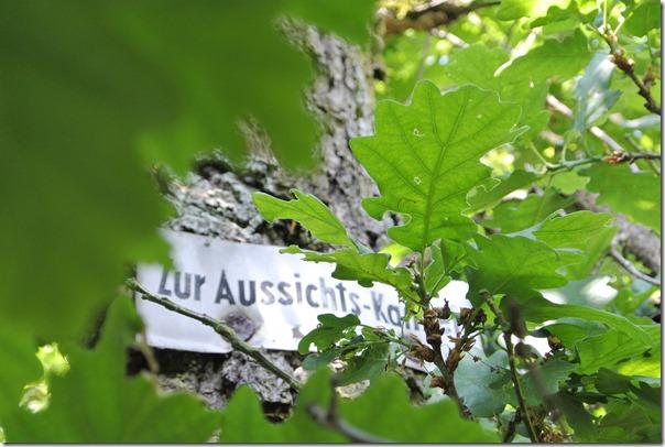 Himmelsleiter Brohl-Lützing - Hinweistafel Aussichtskanzel