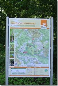 Traumpfad Waldschluchtenweg - KArte