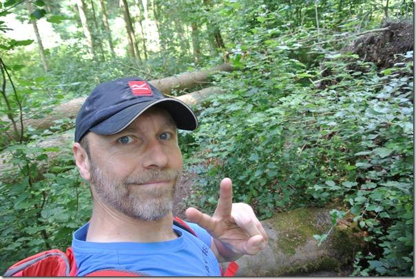 Traumpfad Waldschluchtenweg - Selfie