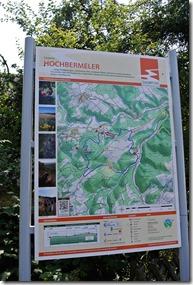 Traumpfad Hochbermeler - Karte des Weges
